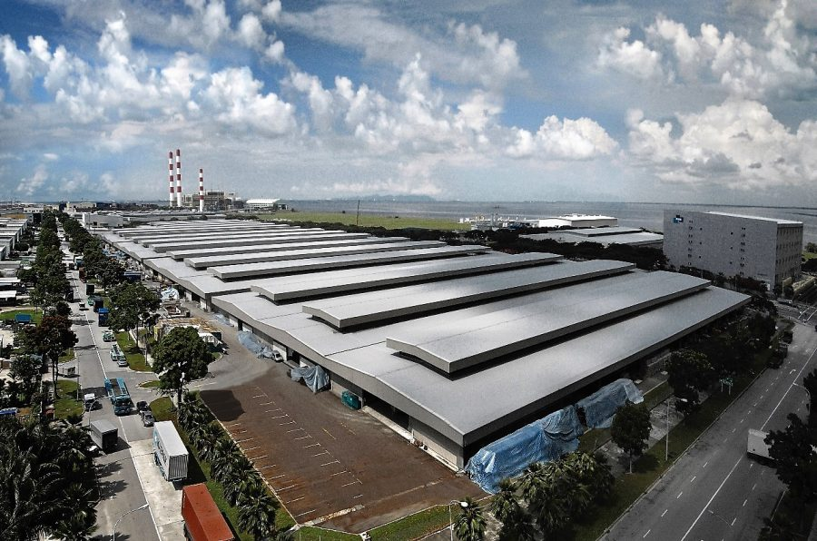 B2 factory for rent at Tuas