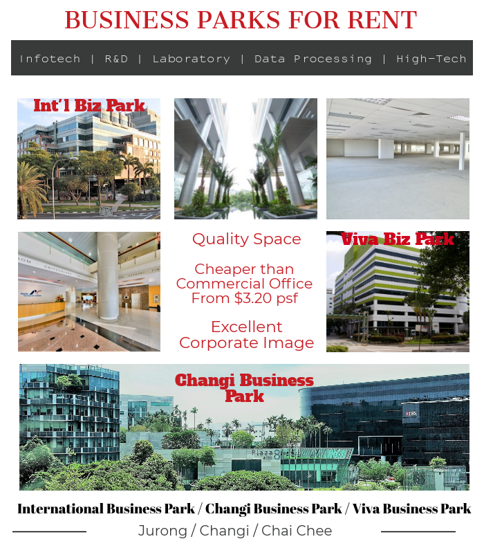 Singapore Business Park For rent